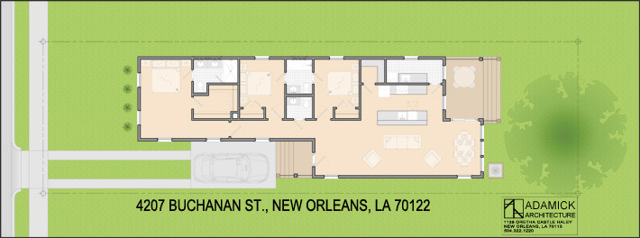 4207 Buchanan St custom home plan